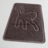 ペットSupplly PVCコイルのキャットリターのマットの子犬の挿入の皿ボールPlacemat