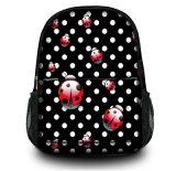 側面のPockertsの卸し売りOEMのカスタムキャンバスのバックパックの肩のラップトップ袋