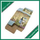 Luxuxdrucken-gewölbtes Papier-Wein-Kasten-Verpacken