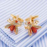 Regalo di cerimonia nuziale divertente di collegamenti di polsino dei gemelli dell'ape del progettista di VAGULA Gemelos 517