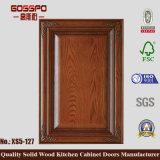 Puerta de cabina de madera de cocina del diseño antiguo (GSP5-019)