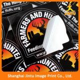 Impressão feita sob encomenda do vinil da etiqueta da etiqueta do Auto-Adhersive