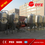 20-2000 galones de acero inoxidable glicol chaqueta tanque cónico de la cerveza del fermentador