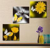 Печатание холстины изображения украшения оптового крупноразмерного домашнего декора стены флористическое
