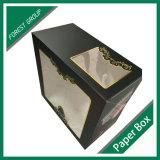 Оптовая коробка упаковки еды с окном PVC