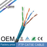 Кабель сети FTP Cat5 проводника High Speed 0.57mm Sipu медный