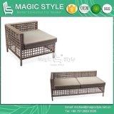 Sofà di tessitura della striscia con il sofà esterno dell'ammortizzatore con la fasciatura (stile magico)