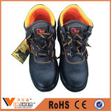 Segurança Cow Leather Industrial Stylish Work Safety Shoes