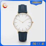 Reloj del acero inoxidable de la aleación, venta al por mayor hecha en fábrica en el reloj de China