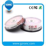 Menor precio defectuoso DVD imprimible con paquete de 50