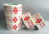 Forte contrassegno adesivo della stampa BOPP di marchio di Dongguan che impacca nastro adesivo
