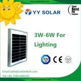 Baixo painel solar de preço 3W-5W para aplicações solares