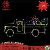 Kan op het van de LEIDENE van de Muur Licht van het Motief van de Auto Gift van Kerstmis voor Kerstmis worden opgezet