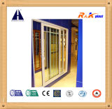 Profils sains et imperméables à l'eau d'Aluminum/PVC pour la ceinture de Windows de plastique de 80mm