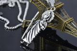 De Juwelen van de Halsband van het Roestvrij staal van het Titanium van de Manier van de Halsband van de Tegenhanger van de Leurder van de Schedel van de Ontwerper van mensen