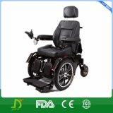 Stahl 320W, der oben elektrischer Strom-Rollstuhl mit Licht steht