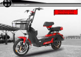 Bici eléctrica de la calle del ciclomotor del pedal, vespa eléctrica con el asiento para los adultos