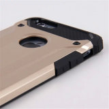 Móvil/armadura vendedores calientes 2 del teléfono celular en 1 caso de TPU para el iPhone 7 (XSDD-029)