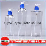 bottiglia ovale di plastica di Ellipe dell'animale domestico 300ml con la pompa della lozione (ZY01-A011)