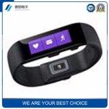 Desgastar una pulsera elegante del deporte del monitor de la salud del ritmo cardíaco del pedal de Bluetooth a nombre de la planta de tratamiento