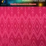 Impression géométrique sur le tissu de Spandex de diamant de polyester