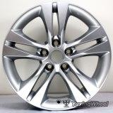 Roda de liga leve de rodas de alumínio de 16 polegadas para Toyota com DOT