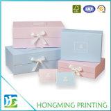Fita Foldable luxuosa da caixa de presente do cartão
