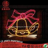 Grande lumière de motif de cadeau et d'étoile de Noël de DEL pour Noël