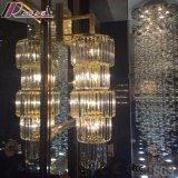 ホテルが付いている円形の方法そして現代水晶ペンダント灯