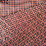 셔츠 복장 Rls50-21po를 위한 100%년 면 포플린 털실에 의하여 염색되는 직물