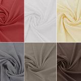 Tela llana sólida del verano del popelín de algodón de la guarnición de la tela