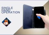 Samsung S8のiPhone 7の革のための携帯電話のアクセサリの電話箱