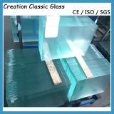 Claro 19mm de vidrio flotado 3660 * 2140mm 3300 * 2134mm