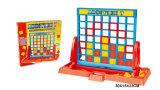 子供のプラスチックデスクトップ形式4及び付加7のボードゲームのおもちゃ