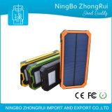 新しい移動式太陽充電器12000mAhの太陽エネルギーバンク20000mAhは高品質力バンクの着く