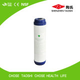 10 filtro em caixa do carbono da água da polegada GAC