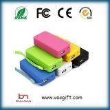 batterie portative de téléphone mobile du côté USB du pouvoir 5200mAh