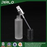 botella de cristal helada de empaquetado de la alta calidad del uso del perfume de 50ml 1.7oz con la botella de cristal cosmética de agua del maquillaje del rociador fino de la niebla