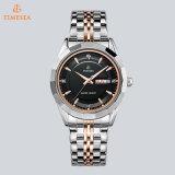 Gift Watch72370 van de Pols van het Horloge van het Kwarts van de Vertoning van het Staal van Mens de Waterdichte Analoge