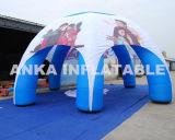 Im Freienbekanntmachenaufblasbares bewegliches Kabinendach-Armkreuz-Zelt