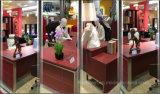 Populärer moderner Entwurfs-Luxuxbüro-Tisch mit Leder (AT032)
