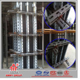 Konkrete Baumaterial-Verschalung für Wand und Spalte