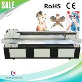 金属の/PVCガラスかアクリルまたは革または/Tilesの高速印刷のための新しいLEDの広いフォーマットの紫外線平面プリンター