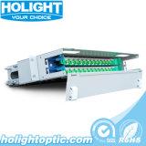 Frame de distribuição ótico da fibra da montagem de cremalheira ODF das portas de FC 24