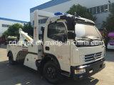 真新しい工場販売のDongfeng 5tonの道のレッカー車