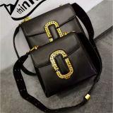 Sacs en gros de Madame épaule de taille du sac à main deux de cuir véritable de Guangzhou fabriqués en Chine Emg4964