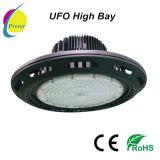 공장 전람을%s Ra80 PF0.9 120lm/W UFO LED 높은 만