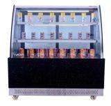 高品質はEmbracoの圧縮機が付いているガラスケーキのショーケースを曲げた