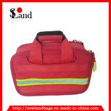 赤いポリエステル救急箱袋