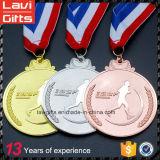 OEM Maratón Medalla del deporte con tamaño personalizado
